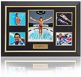 Tom Daley - Presentación enmarcada a Mano firmada por los Juegos Olímpicos de Londres 2012