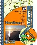 Motorrad -Tour -Reise zum Nordkap ( Norwegen ) mit GPS Daten