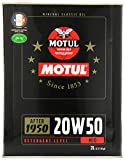 MOTUL 102740 Classic Oil 20W50 2 Liter