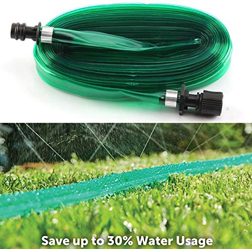 ADEPTNA Durable 7.5 Metre Soaker Hose Pipe for Garden Lawn and Backyard...