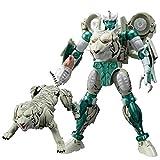 JINJIND Juguetes de Transformers, Dominio Blanco Tiger Warrior Beast Wars Wars Autobots Figura de acción Modelo Toys Favorito Regalo Favorito