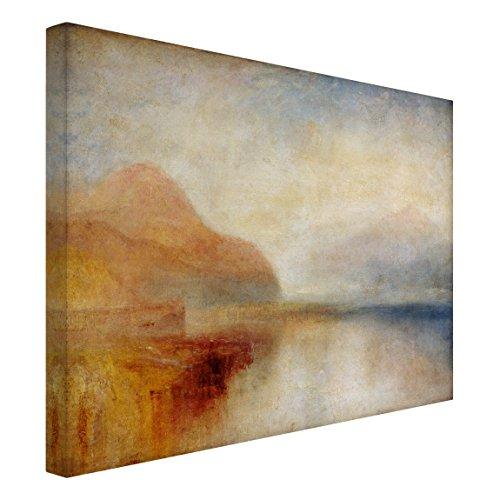Bilderwelten Cuadro en lienzo - William Turner - Monte Rosa - Apaisado 3:4, cuadros cuadro lienzo cuadro sobre lienzo cuadro moderno cuadro decoracion cuadros decorativos cuadro xxl, Tamaño: 30 x 40cm