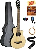 Yamaha APXT2 3/4-Size Acoustic-Electric Guitar - Natural Bundle with Gig Bag, Tuner, Strings, Strap, Picks, Austin Bazaar...