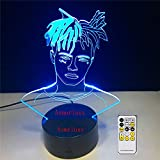 Skimaskenlichtillusionsart Farbnachtersatztischlampenbabynachtdekorationslichter. Exklusiv.