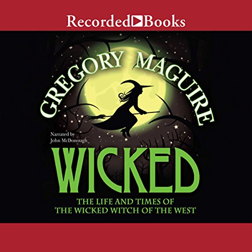 Wicked audiobook cover art