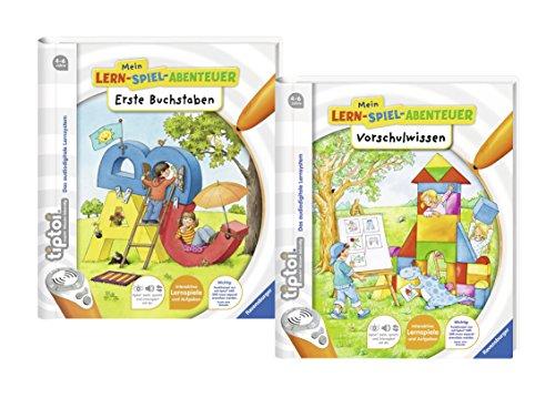 Ravensburger tiptoi manuels scolaires Set - Premier Lettrage et Connaître les établissements préscolaires