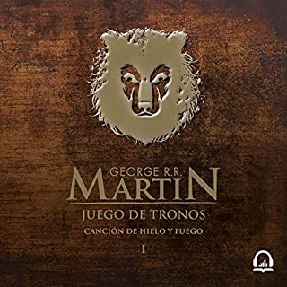 Juego de tronos (Canción de hielo y fuego 1) [Game of Thrones (A Song of Ice and Fire 1)]                   By:                                                                                                                                 George R. R. Martin                               Narrated by:                                                                                                                                 Victor Manuel Espinoza                      Length: 32 hrs and 44 mins     Not rated yet     Overall 0.0