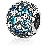 Unique gift ideas, blue Pandora charm