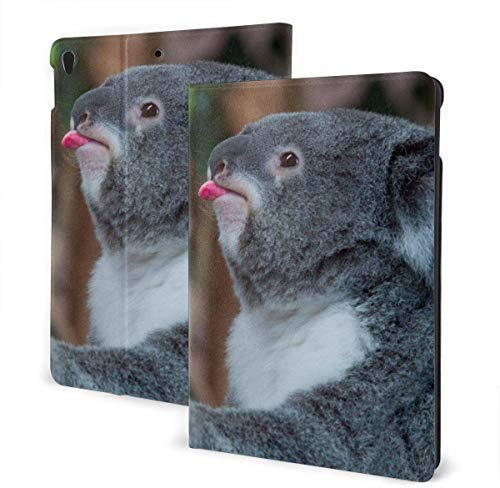 Funda Blue Abstract Dragonfly para iPad Air 3rd Gen 10.5 '2019 / iPad Pro 10.5' 2017 Soporte en Folio de múltiples ángulos Auto Sleep / Wake para iPad 10.5 Inch Tablet-Funny Koala Bear-One Size
