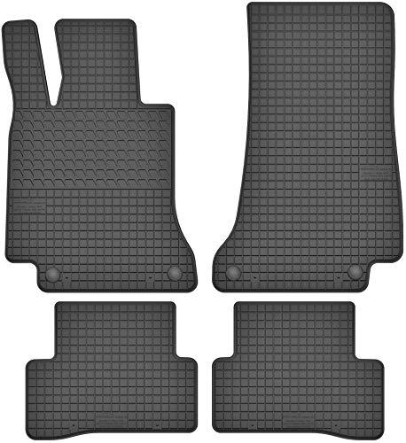 Motohobby Gummimatten Gummi Fußmatten Satz für Mercedes-Benz C-Klasse W205 (ab 2014) - Passgenau