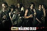 Empire Merchandising 672001 Walking Dead, The, Season 5, de la película de la película de Horror Series, 91,5 x 61 cm de tamaño