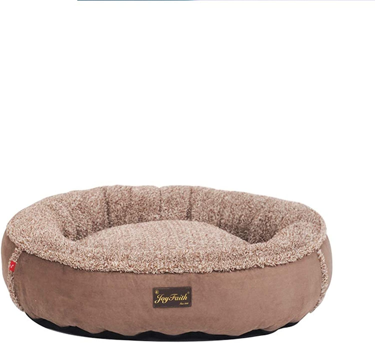 Puppy Nest Pet Small Dog Supplies Cat Nest Available For Four Seasons, Warm Winter, Brown SMBYLL
