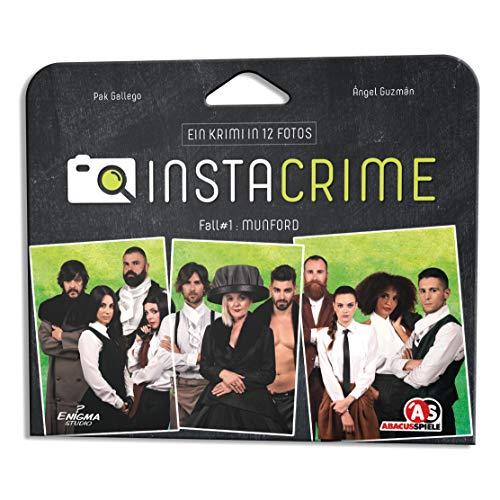 ABACUSSPIELE 48207 Instacrime Munford, Detektivspiel