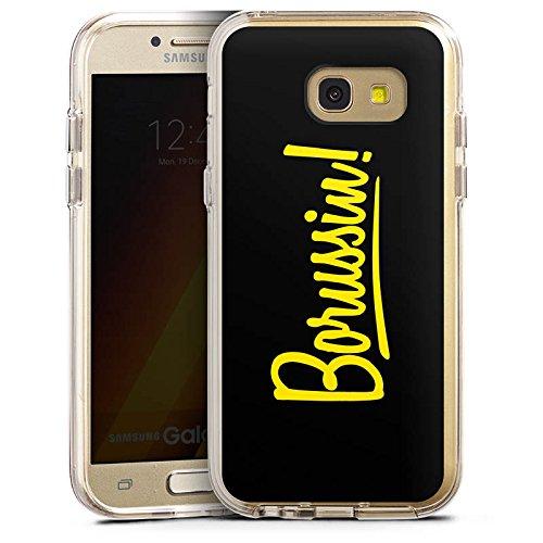 DeinDesign Cover kompatibel mit Samsung Galaxy A5 (2017) Bumper Hülle Bumper Case Schutzhülle Borussia Dortmund Borussin Fanartikel