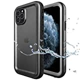 SPORTLINK iPhone 11 Pro Max Waterproof Case with Built-in Screen Protector, Full Body Sealed for...