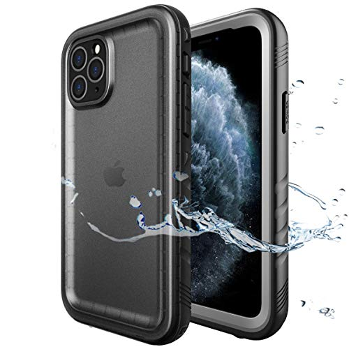 SPORTLINK iPhone 11 Pro MAX Waterproof Case with Built-in Screen Protector, Full Body Sealed for Underwater Rugged Cover for iPhone 11 Pro MAX 2019 Released 6.5 Inch (Blue)