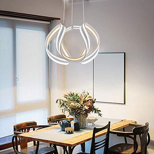 Kroonluchter eenvoudig te installeren Gepersonaliseerde creatieve ring smeedijzer kristal restaurant kroonluchter grootte 40 cm * 40 cm lampen zijn mooi gemaakt