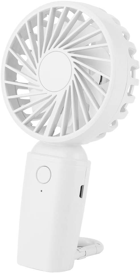 YYQTGG Practical Handheld Fan 3.5h Cheap super special price Many popular brands Charging and ABS S with Time