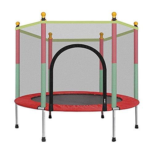 Xiao Jian- Indoor trampolines 55 in trampolines voor kinderen met veiligheidsnet |Indoor Outdoor Rebounders Trampoline voor jongens meisjes|600 Lbs Load