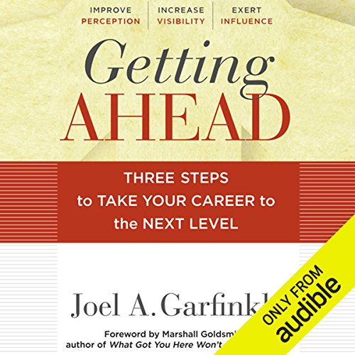Getting Ahead audiobook cover art