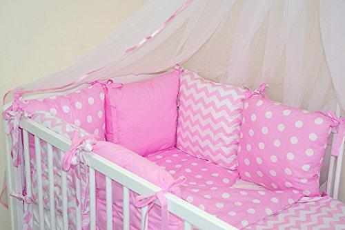 Baby's Comfort Parure de lit pour lit de bébé (8 pièces)