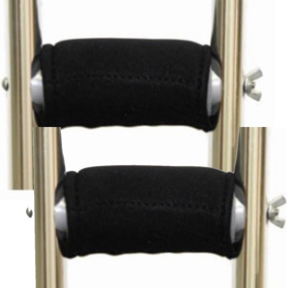Premium Gel Popular popular Crutch Hand Grip Covers Pair Sale item Softens of Pain The -