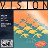 CUERDAS VIOLIN - Thomastik (Vision Titanium/Vit100) (Juego Completo) Medium Violin 4/4
