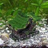Planta Artificial Multicolor de Silicona para Peces, decoración de Acuario, Acuario, Hierba de Agua