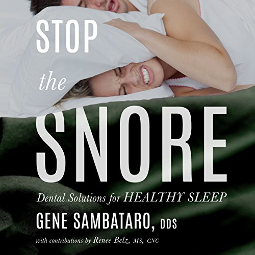 Stop the Snore audiobook cover art