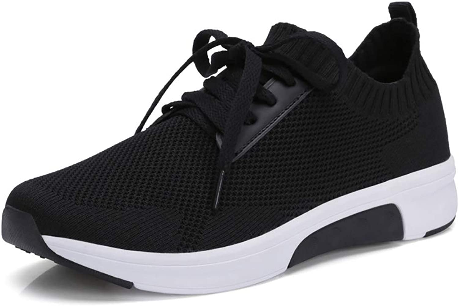 Women's shoes Summer and Autumn Sports shoes Breathable Mesh Running shoes Korean Casual shoes Female Black Pink