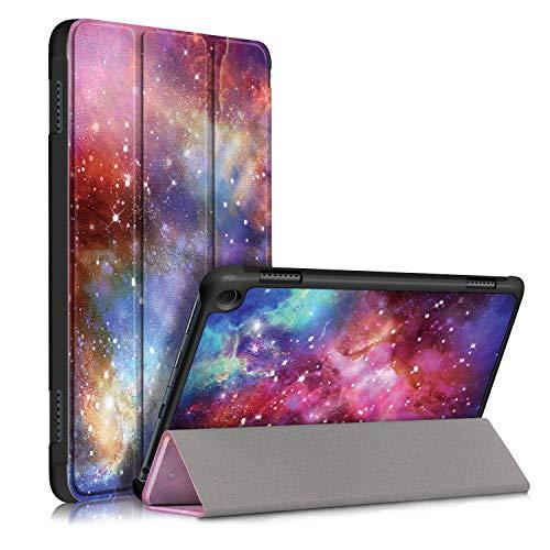VovIPO Smart Case per Kindle Fire HD 8 e Fire HD 8 Plus Tablet (10a generazione, 2020 rilascio), sottile e leggera custodia per Fire HD 8/Fire HD 8 Plus 2020 (Galaxy)