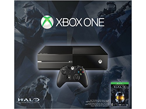 Microsoft Xbox One Console 500GB Spring Bundle with Halo Master Chief