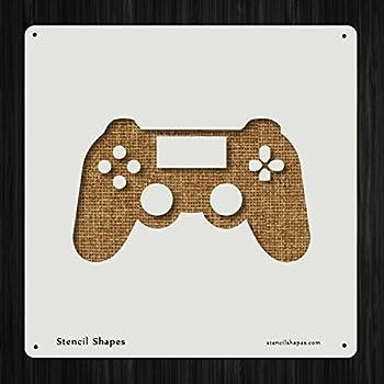 video game stencil