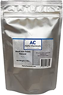 Black Iron Oxide - Fe3O4 - Natural - 5 Pounds