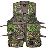 Mossy Oak Longbeard Elite Turkey Hunting Vest, Turkey Vest for Hunting with Seat, Obsession, X/2XL