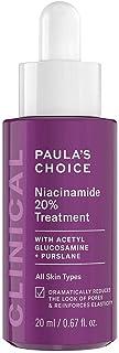 Paula's Choice Clinical Niacinamide 20% Treatment - Minimaliseert Grove Poriën & Pigmentvlekken - Serum met Vitamine C - A...