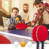 Zoom IMG-1 baozun racchetta da ping pong
