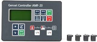 Controlador de grupo electrógeno Diesel, Controlador automático de generador diesel Pantalla LCD, Protección del generador trifásico, para detección de fallas de la red eléctrica