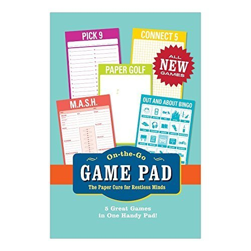 Knock Knock On-The-Go Game Pad 2, 60 Sheets by Knock Knock (2014-07-04)