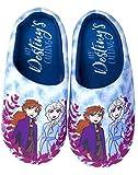Azul Mula Niños de Frozen 2 Destino Chica Slip-en Zapatillas