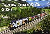 Taurus, Traxx und Co. 2020: Kalender 2020 - VG-Bahn