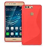 Estuche Ultra Delgado para Huawei P9 Plus El | En Rojo | Funda De Línea S