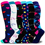 Compression Socks For Women & Men-Best Support Socks For Circulation,Medical,Running,Athletic