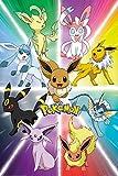 GB Eye Eevee Evolution Pokemon - Pster maxi
