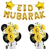 Kcnsieou Globos Globos Eid Mubarak Globos Set