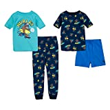 Hurley Boys' Pajama Set, Valerian Blue Print, 6