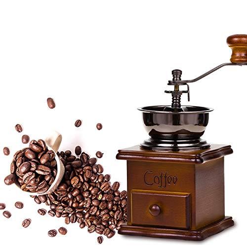 DELEE GCG9318 Moulin à Café Manuel Artisanal à...