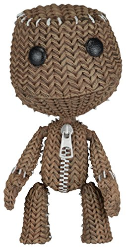 Little Big Planet - Quizzical Sackboy - Series 2 Action Figure