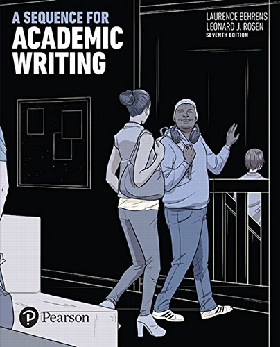 A Sequence for Academic Writing (7th Edition)