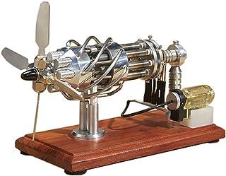 BOYH Modèle de Moteur Stirling Moteur à Combustion Interne Jouet Éducatif Expérience Physique Cadeau pour Adultes et Enfants